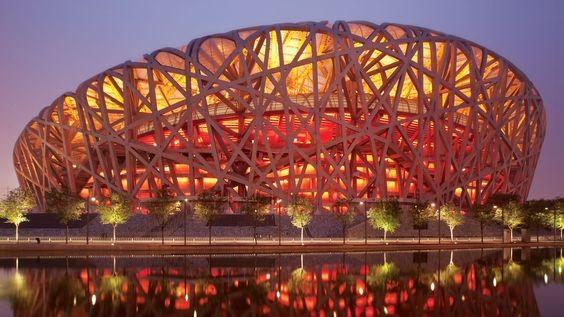 สนามกีฬารังนก (Beijing National Stadium) สนามกีฬาโดดเด่นเน้นความอลังการ